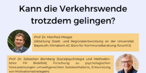 Autonation Deutschland - Kann die Verkehrswende trotzdem gelingen?